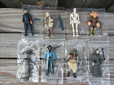 8 Vintage Star Wars Action Figures 100% Complete Original Weapons Accessories