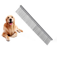 Pet Cat Dog Stainless Steel Comb Hair Brush Shedding Puppy Trimmer Grooming Tool