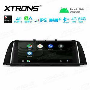 """10.25"""" Android 10 CarAutoPlay GPS Stereo For BMW 5 Series F10 F11 NBT 2013-2016"""