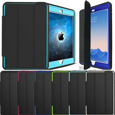 Heavy Duty Hard Smart Cover Case for iPad 9.7 2018/2017 A1893 A1954 A1822 A1823