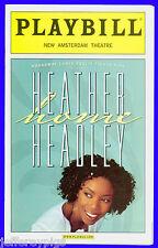 Playbill + Heather Headley HOME + ONE NIGHT ONLY + Clay Aiken , Adam Pascal