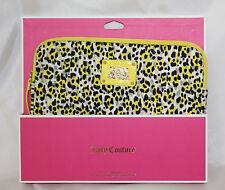 Juicy Couture IPad Sleeve New Yellow Leopard Print Neoprene 3RD GEN iPad