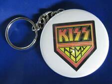 "KISS Great American hard rock band 2.25"" KEYCHAIN & 2.25"" Pinback NEW 2 items"