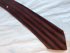 "Boys 53"" Brown Black Tie Necktie INTERWOVEN~ FREE US SHIP (7514)"
