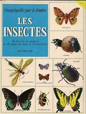 ENCYCLOPEDIE PAR LE TIMBRE / LES INSECTES / 48 TIMBRES