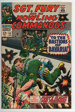SGT Fury and His Howling Commandos #53, Marvel 7.5 VF-