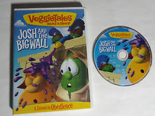VEGGIETALES JOSH AND THE BIG WALL (DVD 2009) A LESSON IN OBEDIENCE