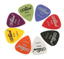 Guitar Pick Set of 8 Multi Color Size Variety Pack Collection Gift Present
