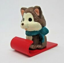 Hallmark Merry Miniature Husky on Sled