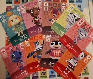 AUTHENTIC ANIMAL CROSSING AMIIBO SERIES 4 CARDS :) # 301-400 ON SALE! PRICES CUT