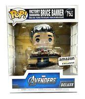Funko Pop Marvel Avengers VICTORY SCHAWARMA BRUCE BANNER 755 Exclusive NEW