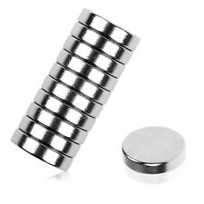 10x Super Strong Round Magnets 12mm x 3mm Rare Earth Disc Neodymium Magnets