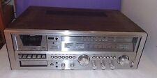 Vtg LENOX Lenoxx SL-700 8 Track Cassette Tape Deck AM FM Stereo Receiver Tested