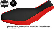 GRIP & RED VINYL CUSTOM FITS POLARIS PREDATOR 500 03-07 SEAT COVER