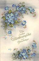 BG4387 lilly   geburtstag birthday flower germany  greetings