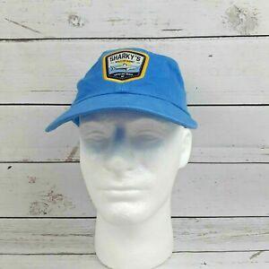 Sharky's Waterfront Ocean Isle Beach NC Mens Hat Cap Blue Adjustable Richardson