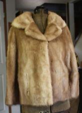 Vintage Blonde Mink Fur Coat Jacket