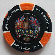 "1 Orig. Harley-Davidson Pokerchip "" Warr´s H-D, London, UK """