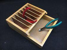 Wood Plier Rack Holder