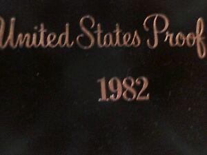 U S 1982 S PROOF Set