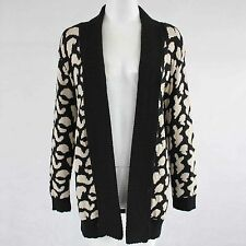 Collared Animal Print Cardigans for Women