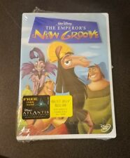 The Emperor's New Groove (DVD, 2001 US Printing) Disney kids animated movie NEW