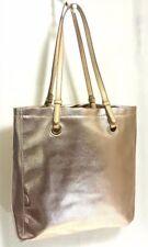 $59 Croft & Barrow Gold Metallic Pebble Tote Bag-Handbag-Double Handle Shopper