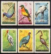 BURUNDI 1965 - SET BIRDS MNH