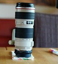 Muy afilado Canon EF 70-200 mm f/4.0 L IS USM objetivamente
