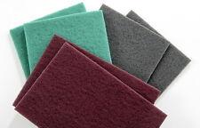 Flocking surface preparation scuff pads Scotch pads 5 x Grey fine DIY Flocking