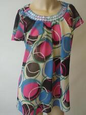 River Island Polyester Crew Neck Hip Length Women's Tops & Shirts