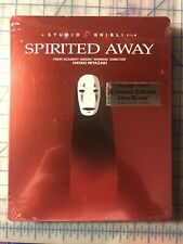 Spirited Away [ Limited Edition Steelbook ] (Blu-ray + Dvd) New