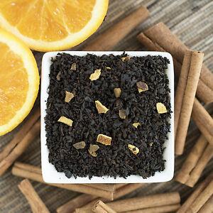 Orange Cinnamon Spice Black Tea Organic - loose leaf or in tea bags