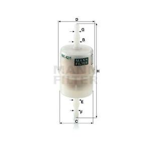 Mann Fuel Filter WK42/1