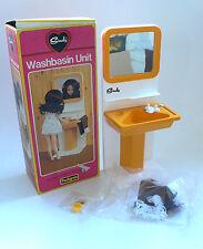 Vintage Pedigree SINDY Fashion Doll WASHBASIN UNIT Bathroom MIB 1970's England