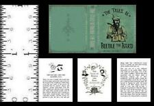1:12 SCALE MINIATURE BOOK THE TALES OF BEEDLE THE BARD ILLUSTRATED