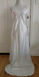 Vintage Natori Nightgown Label Says Petite Size Seems Like M Read Descript Stain