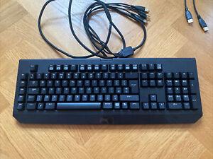 Razer Blackwidow 2013 Gaming Keyboard RZ03-0039 Mint Condition