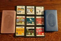 Nintendo DS Game Lot 9 Games Tested Working + 2 Game Cases