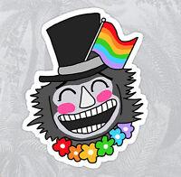gay pride babadook ruPaul Drag Race gay Season 9  Sticker decal car laptop cute