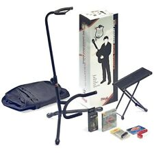 Stagg GAP-C Classical Guitar Accessory Pack Stand Bag Strings Tuner & Footstool