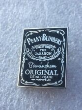Peaky Blinders Enamel Badge - Whisky Label Design - Very Rare! The Garrison