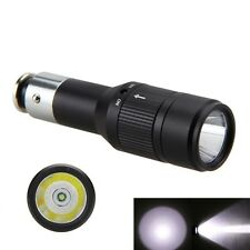 Mini Flashlight Car Charger Powered Rechargeable LED Torch 2000LM Handheld Lamp
