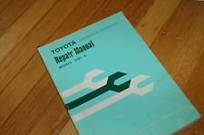 Toyota 2fb7 2fb9 Battery Forklift Truck Repair Shop Service Manual Electric Book