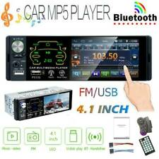 Single 1 DIN Car Stereo 4.1