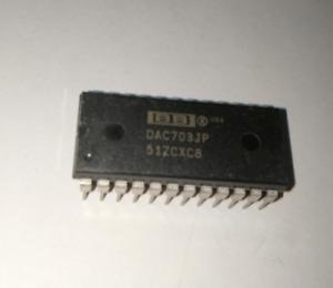1PC New DAC703JP DAC703 DIP-24 Dual Inline Pin DIP Package