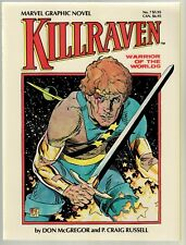 Killraven - Warrior of the Worlds.       Marvel Graphic Novel #7       Mint