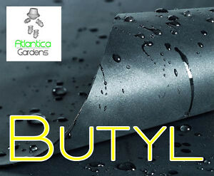 Butyl Rubber 0.75mm Pond Liner - Gordon Low -  Atlantica Gardens Ltd