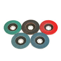 """125mm 5 Inch Sanding Flap Disc Grinding Wheel for Rust Removal 80 Grit 7/8"""" Bore"""