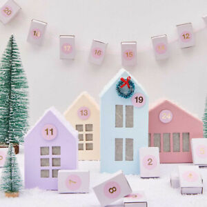 Paper Mache Houses for Decorating | Various Sizes